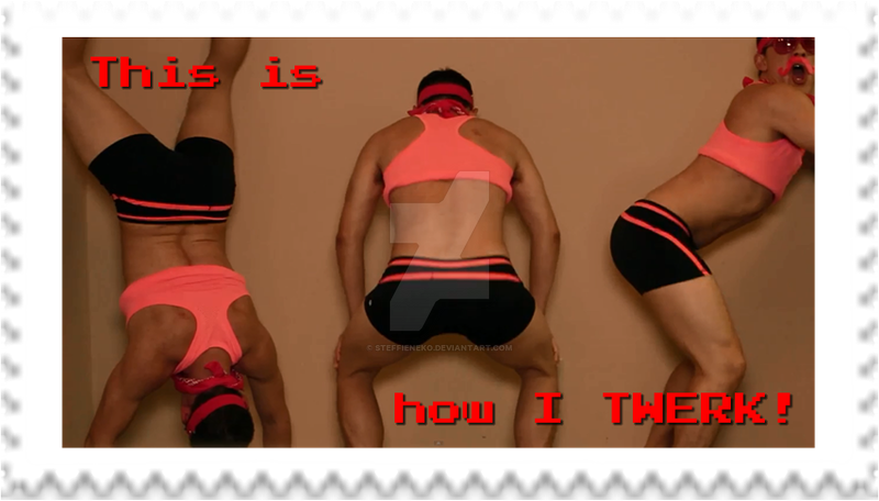 Markiplier Twerk Stamp 4 by SteffieNeko