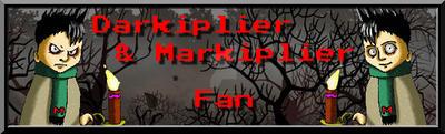 Darkiplier and Markiplier Fan Button by SteffieNeko