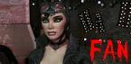 Batman: Arkham City Catwoman Fan Stamp by VegetaNiko