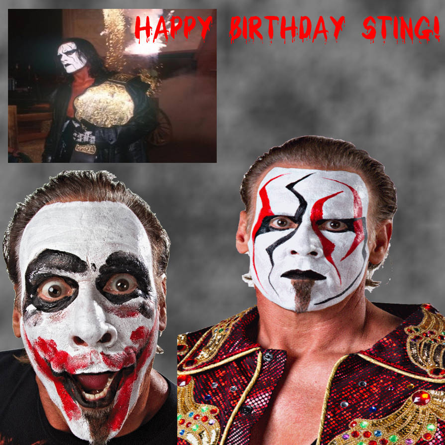 Happy Birthday Sting D By Vegetaniko On Deviantart