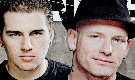 M. Shadows and Corey Taylor Fan Stamp :D by VegetaNiko