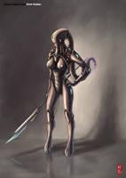 Dark Raider Concept by ichitakaseto
