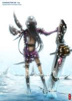 Character 30 - ICE by ichitakaseto