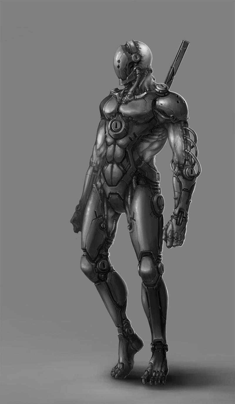 Cyborg Ninja by ichitakaseto on DeviantArt