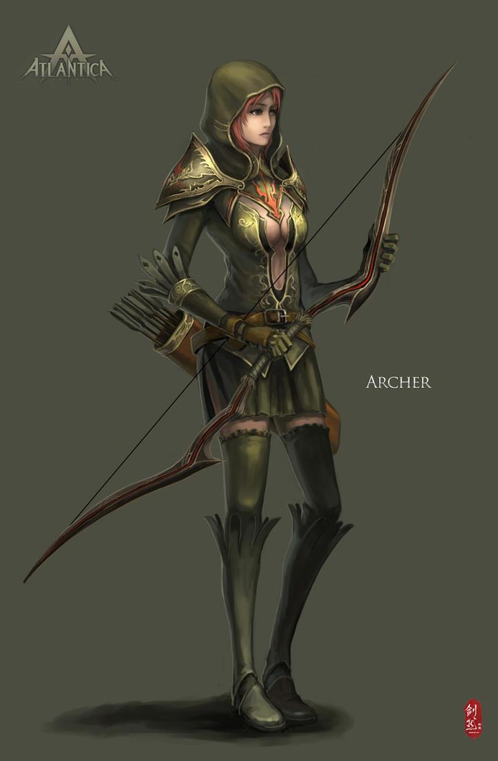Atlantica Archer by ichitakaseto