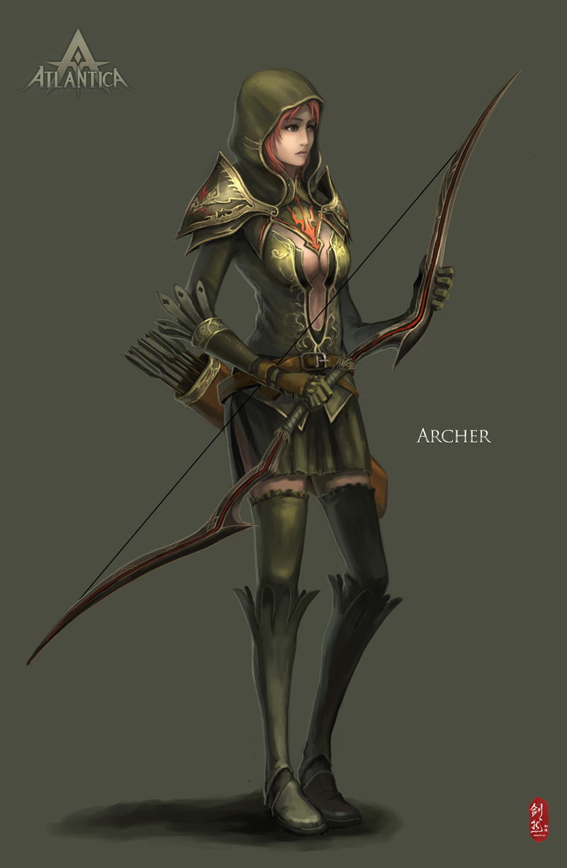 Atlantica Archer by ichitakaseto
