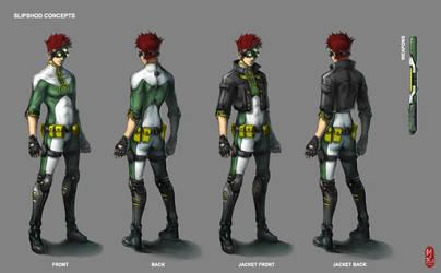 Slipshod Character Concept by ichitakaseto