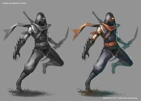 CC05 Ninja by ichitakaseto
