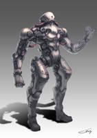 Another robot sketch by ichitakaseto