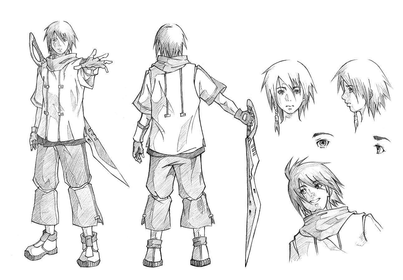 Character Design Process Drawing : Character design by ichitakaseto on deviantart