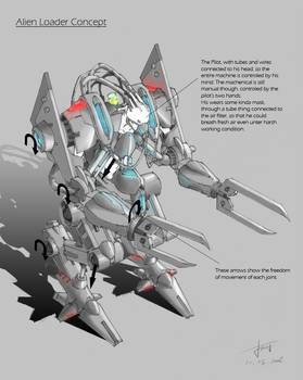 Alien Loader Concept