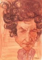 Bob Dylan Caricature by StDamos