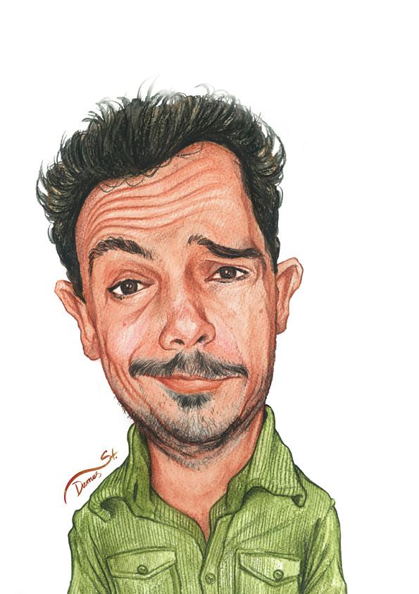 Selfportrait  Caricature