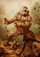 Earth Colossus Boss by StDamos