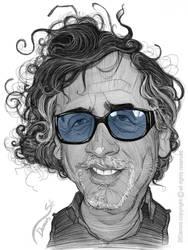 Tim Burton Caricature by StDamos