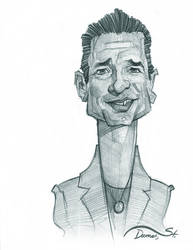 Dave Gahan Caricature Sketch by StDamos
