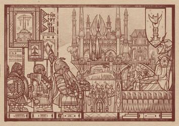 Dwarf book illustration by akurepki2