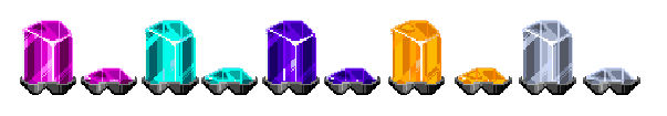 Freedom Planet 2 New Shield Crystals