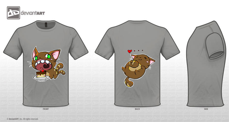 Cute Monsters T-Shirt: DA Design Challenge II by color-sekai