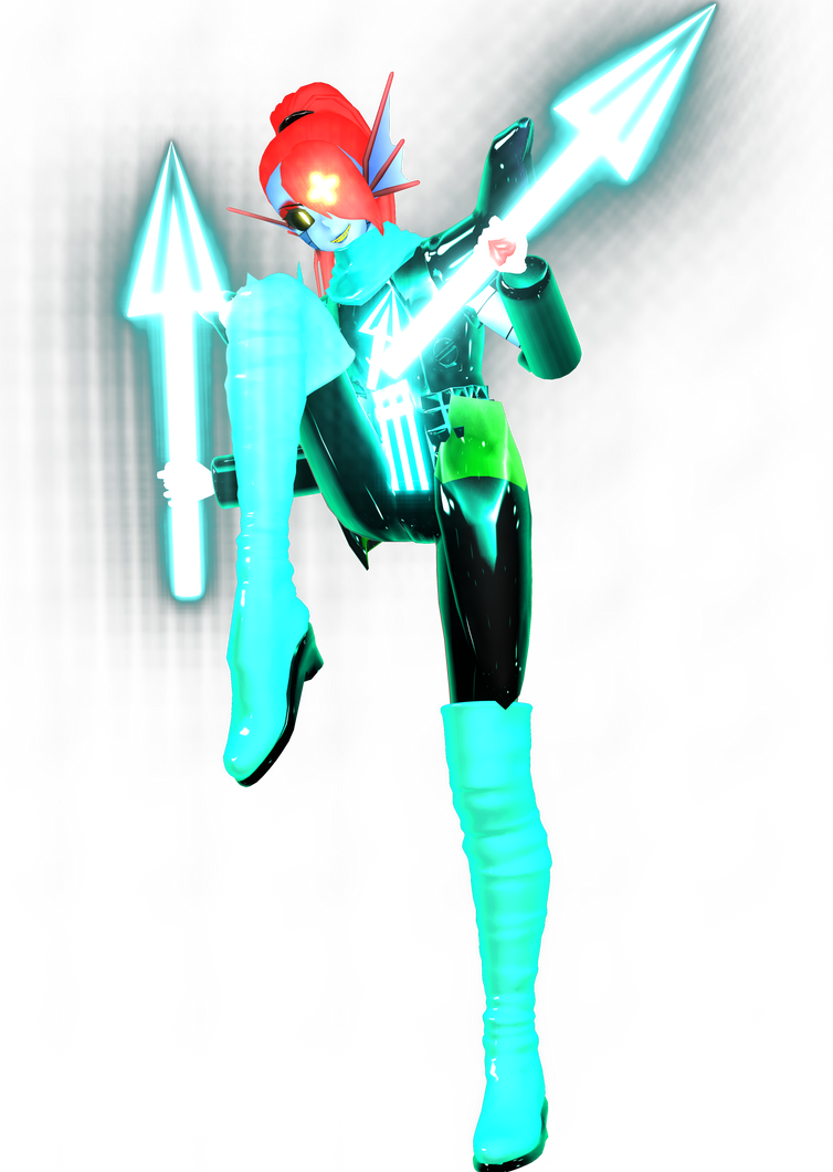 Undyne Ultra (WIP) by DrStinger