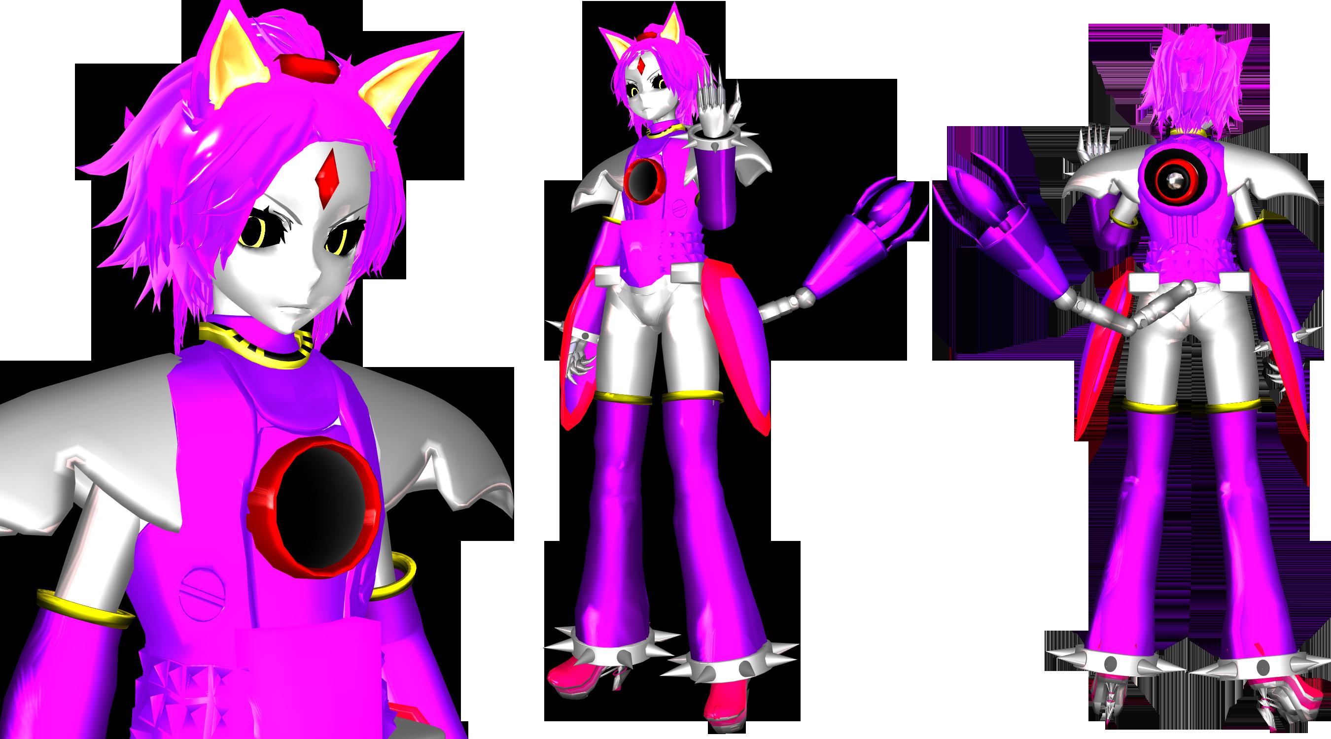 [MMD] Metal Blaze Gijinka WIP(Sonic Series) by DrStinger