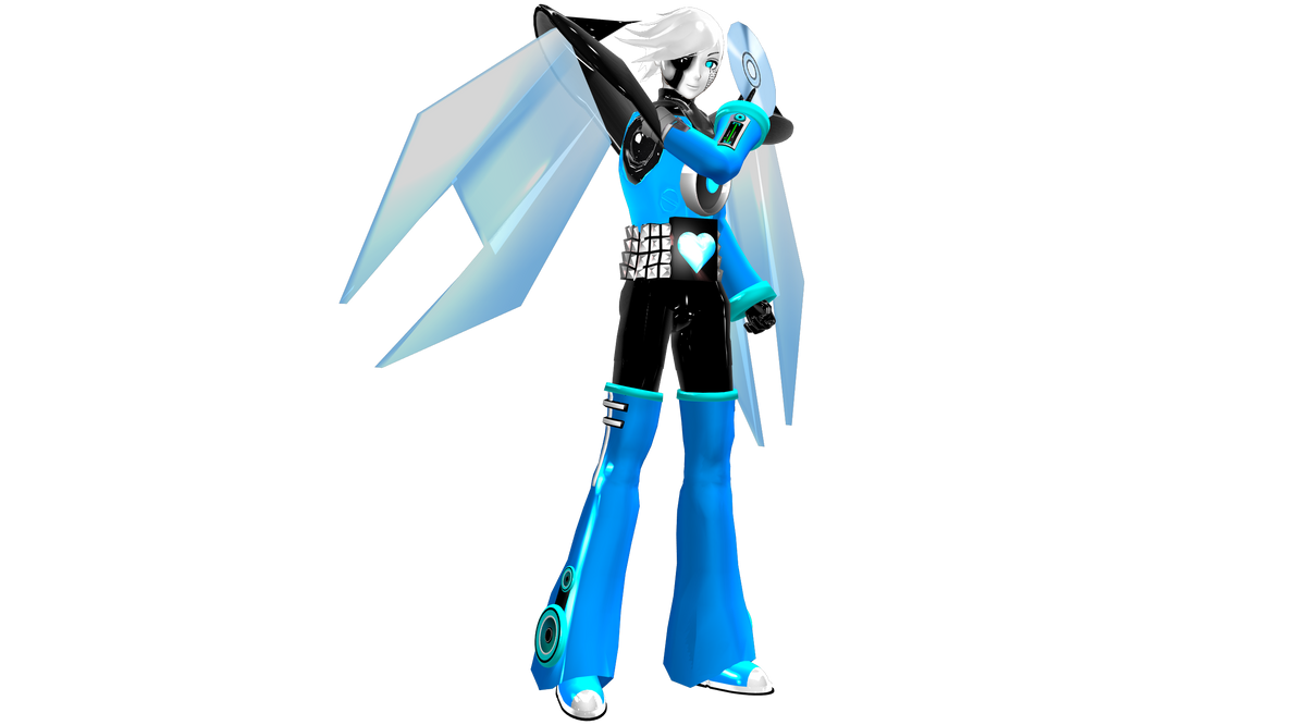 [MMD] Napstablook NEO WIP by DrStinger