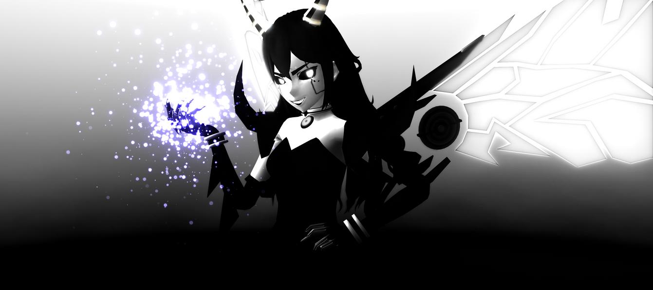 [MMDxBATIM] Alice the Demonic Angel by DrStinger