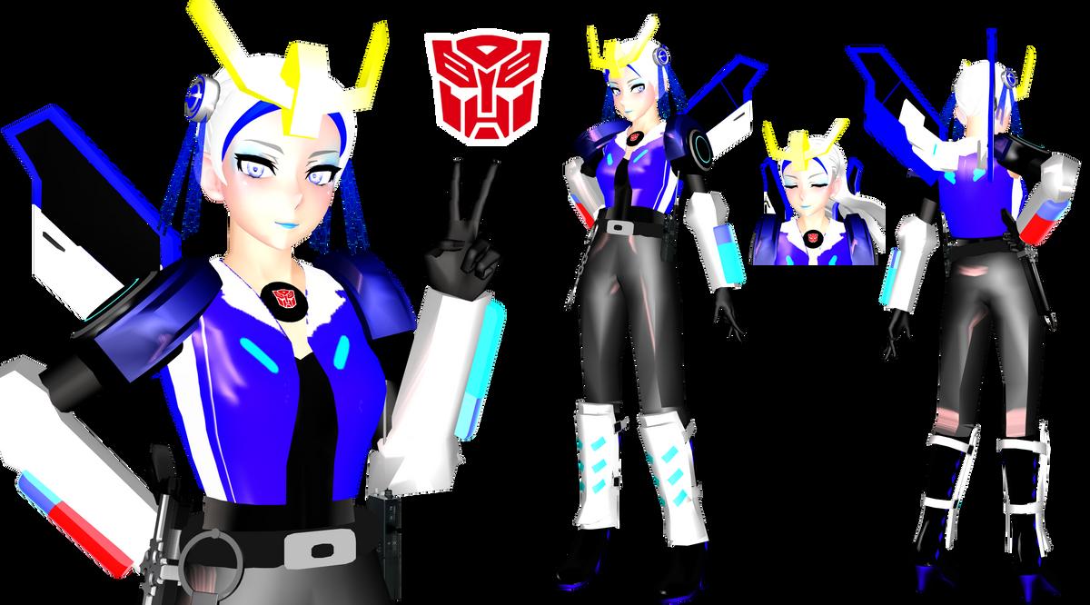 [MMD] Strongarm Gijinka (Transformers) by DrStinger