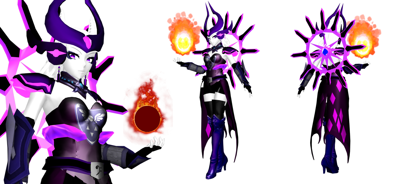 [MMD] Sorceress Toriel (Gijinka) (Undertale) by DrStinger