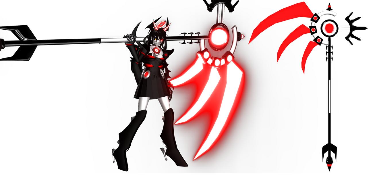 [MMD BATIM] Alice's Scythe by DrStinger