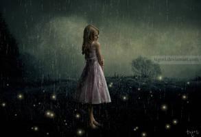 la lluvia dentro de mi... by Tegori