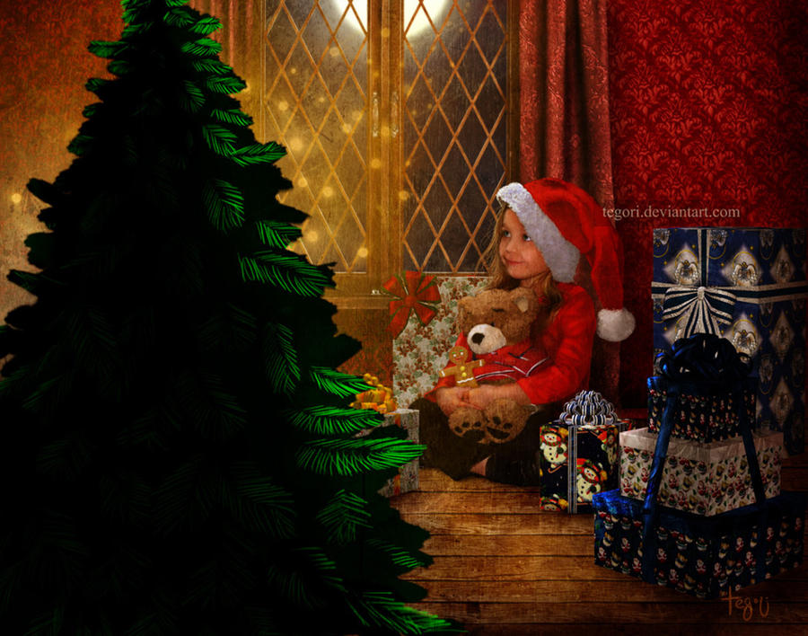 the magic of Christmas by Tegori