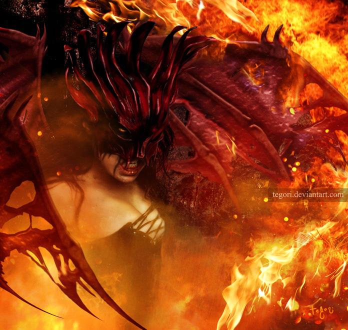 queen of eternal damnation by Tegori