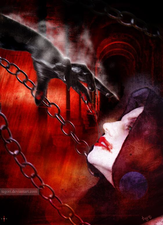 the sweet taste of blood by Tegori