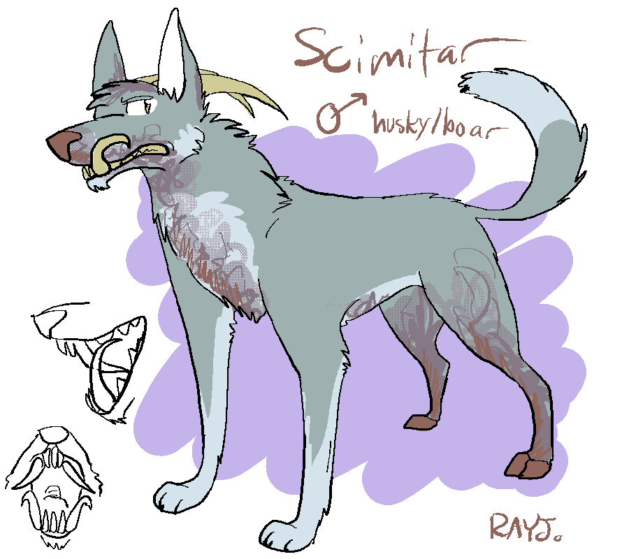 Scimitar by TheRoguez