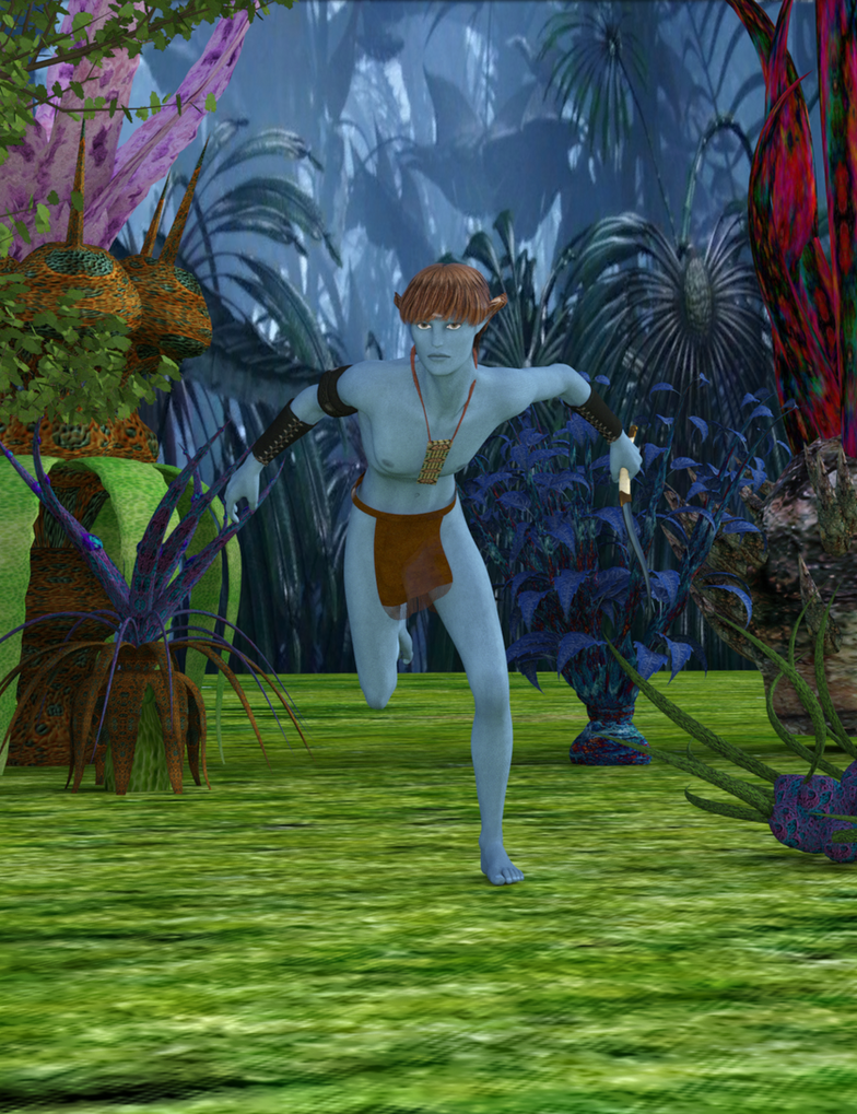 Na'vi Messanger by exocolumn
