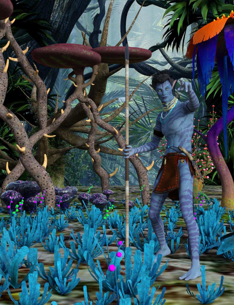Na'vi hunter by exocolumn