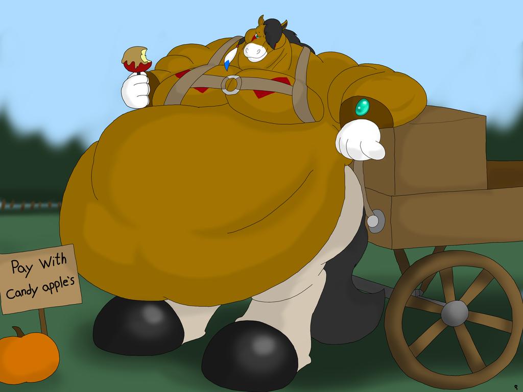 Wild Horse Halloween Hayride by Big-Wolf