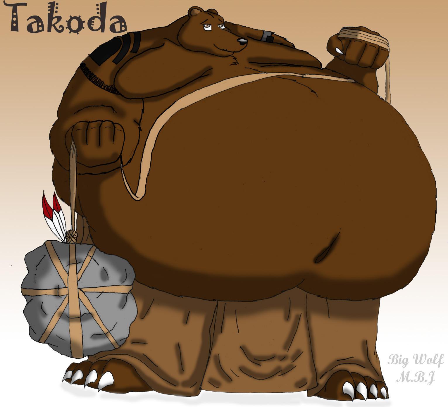 gay big fat bear: