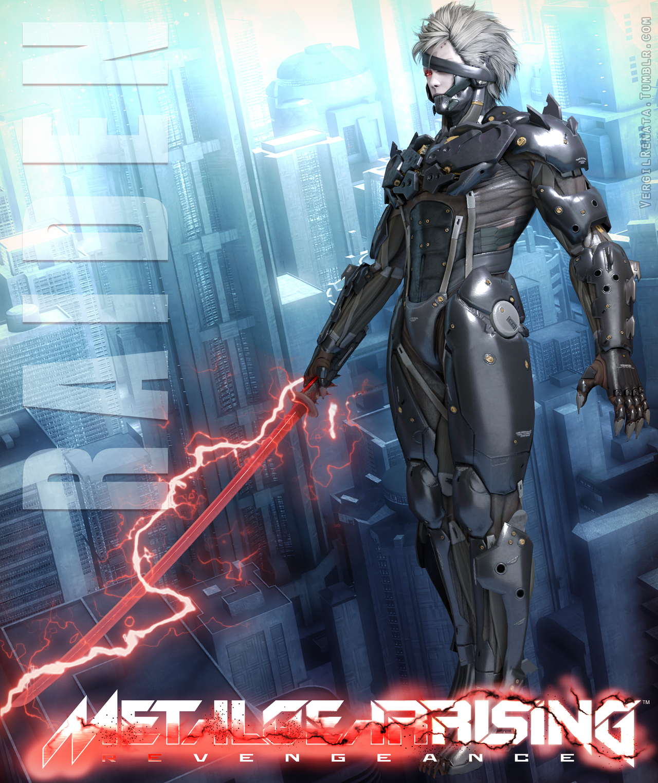 Metal Gear Rising Revengeance - Raiden by VergilRenata