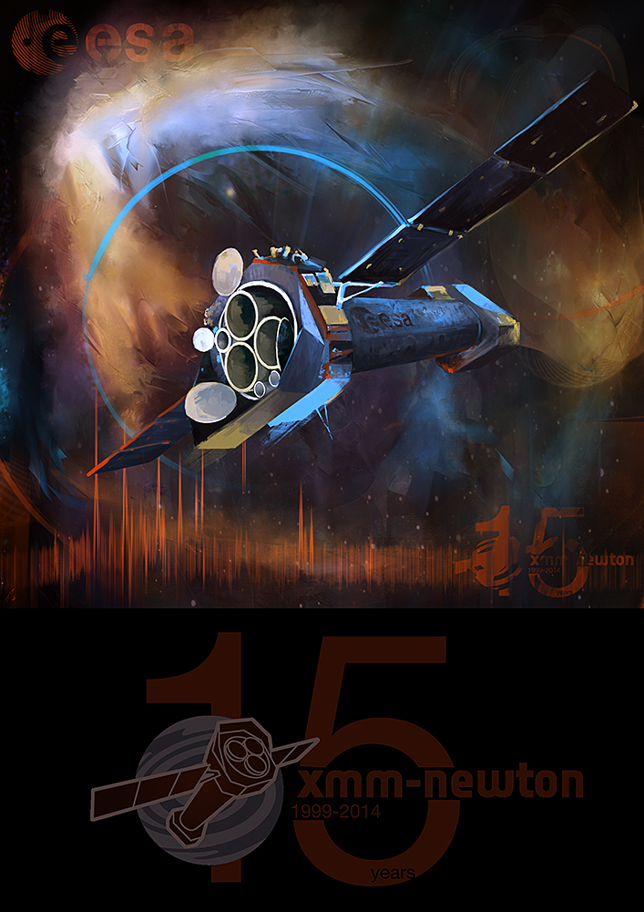 XMM-Newton 15 year Anniversary by ignacio197