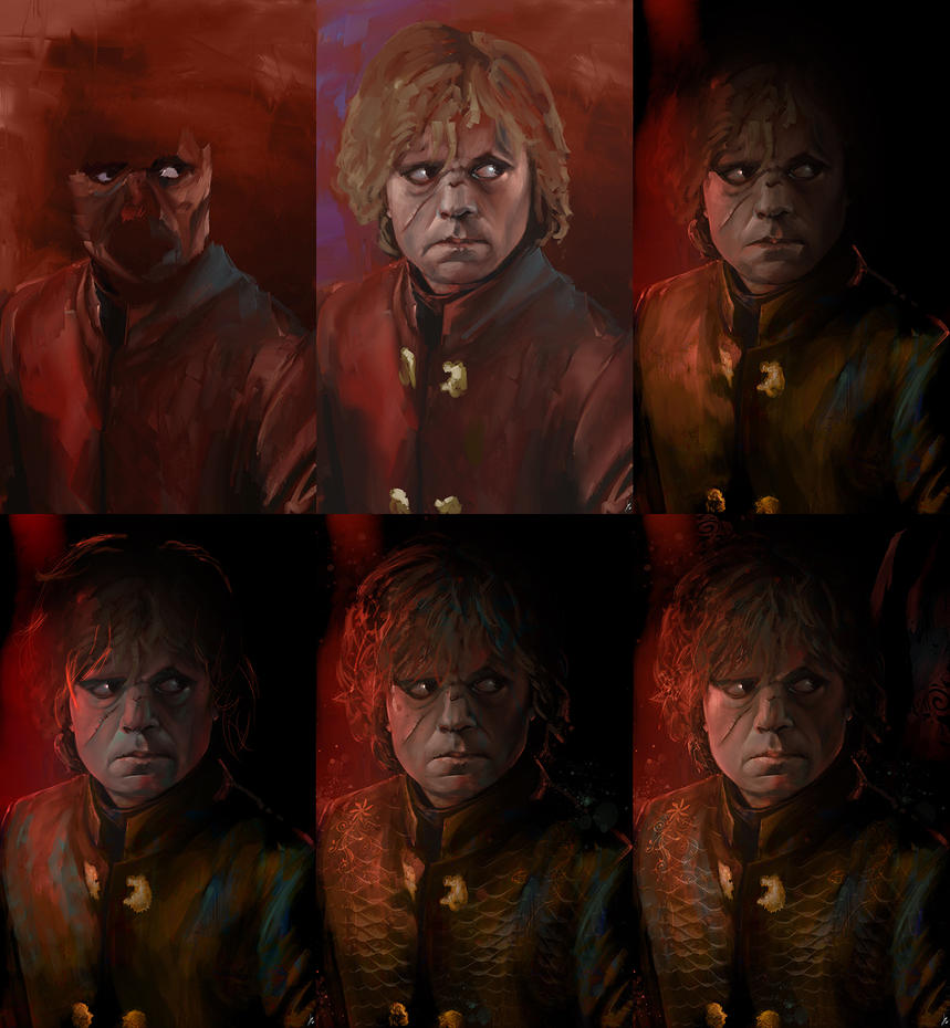 Tyrion Lannister makingof by ignacio197