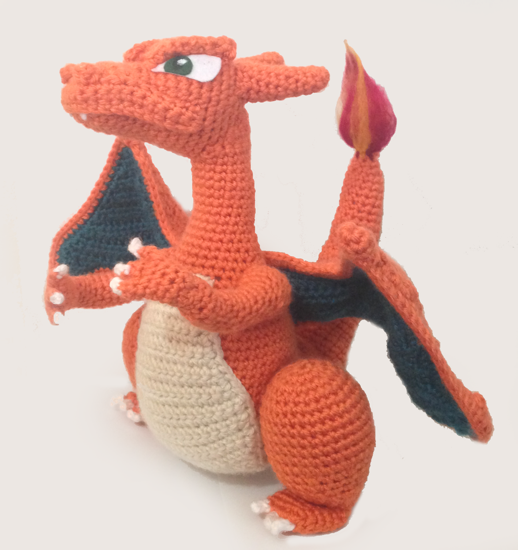Charizard Amigurumi by uninspired-me