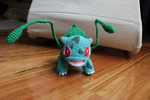 Bulbasaur Amigurumi by uninspired-me