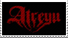 Atreyu Stamp by fangklaww