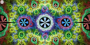 JLF0696 Psychedelic Tabletop