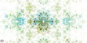 JLF0793 Blue-Green Pattern
