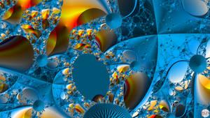 JLF2698 Blue Dream with Yellow Specks