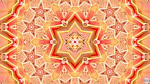 JLF2785 Orange Honeycomb