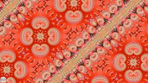 JLF2824 Orange Tile Set